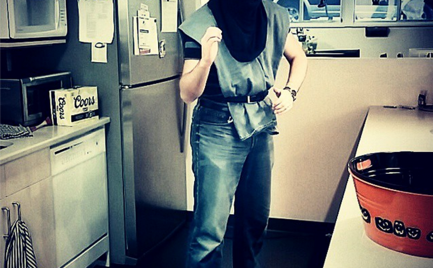 Tony as Sub Zero. #nerdlife