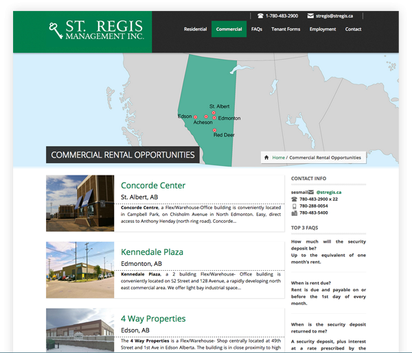 St Regis Property Management